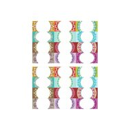 Etichete goale pentru recipiente, 7 x 3 cm, set 24 buc, Mayam