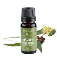 Eucalipt BIO ulei esenţial (eucaliptus globulus), 10 ml, Mayam