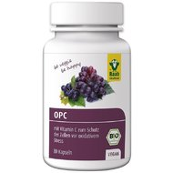 Extract de struguri antioxidant OPC bio, 80 capsule vegane RAAB