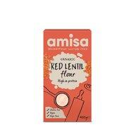 Faina de linte rosie eco, 400g, Amisa