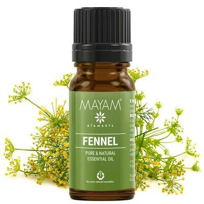 Fenicul dulce ulei esential (foeniculum vulgare) 10 ml