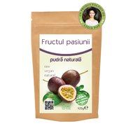 Fructul pasiunii pulbere raw 125g