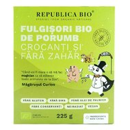 Fulgisori Bio de porumb crocanti si fara zahar FARA GLUTEN Republica BIO, bio, 225 g