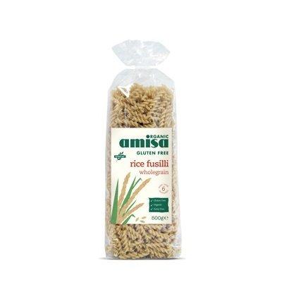Fusilli din orez integral fara gluten bio 500g