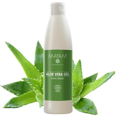 Gel de Aloe Vera nativ BIO, exclusiv natural, 250 ml