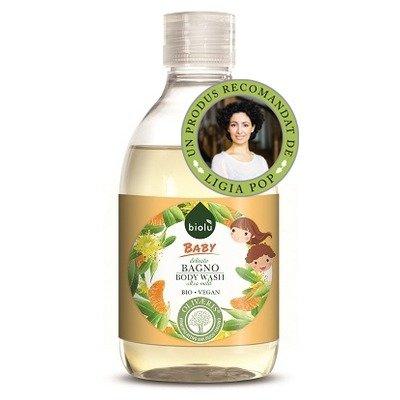 Gel de dus ecologic cu ulei de mandarin pentru copii 300ml