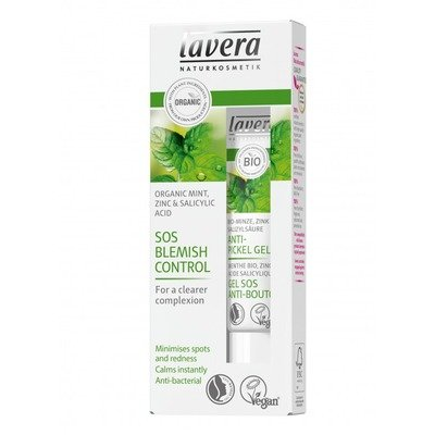 Gel SOS anti acnee cu menta, zinc si acid salicilic natural, 15 ml