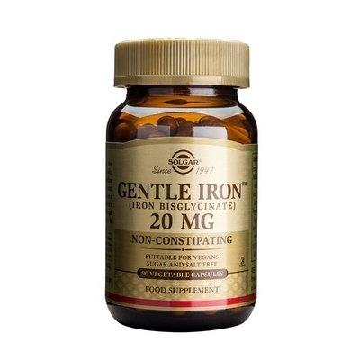 Gentle Iron 20mg 90cps (Fier) SOLGAR