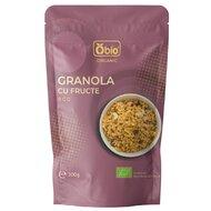 Granola cu fructe bio 200g Obio