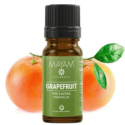 Grapefruit ulei esential (citrus paradisi) 10 ml