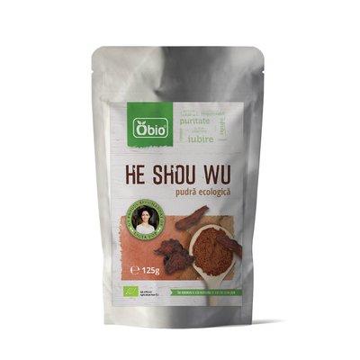 He Shou Wu pudra bio 125g