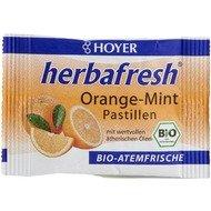 Herbafresh pastile respiratie proaspata cu menta si portocale bio 17g