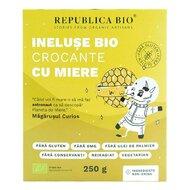 Ineluse Bio crocante cu miere FARA GLUTEN Republica BIO, bio, 250 g