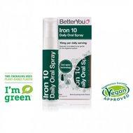 Iron 10 Oral Spray (25ml), BetterYou  -- supliment alimentar cu fier