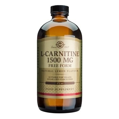 L-Carnitine 1500mg 473ml - SOLGAR