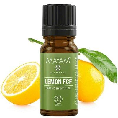 Lamaie ulei esential pur, fara furanocumarine (citrus limon)