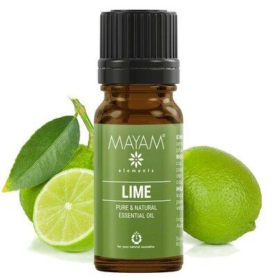 Lamaie verde ulei esential (citrus aurantifolia), 10 ml