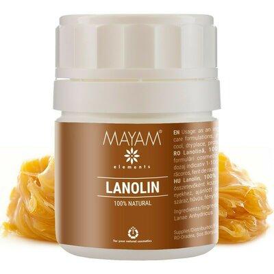 Lanolina anhidra pura, MAYAM, 40 gr
