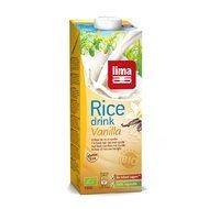 Lapte de orez cu vanilie bio 1 L Lima PROMO