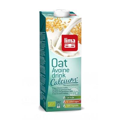 Lapte de ovaz cu calciu bio, 1L Lima