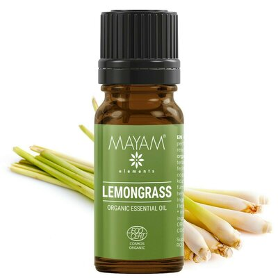Lemongrass BIO ulei esenţial (cymbopogon flexuosus), 10 ml