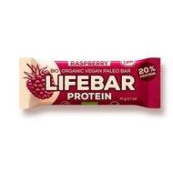 Lifebar baton proteic cu zmeura raw bio 47g