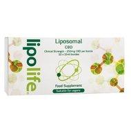 Lipolife - Ulei de canepa cu CBD lipozomal, 10 fiole