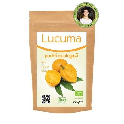 Lucuma pulbere raw bio 250g