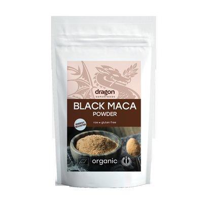 Maca neagra pudra raw bio 100g DS