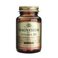 Magnesium+B6 100tb (Magneziu cu vitamina B6) SOLGAR