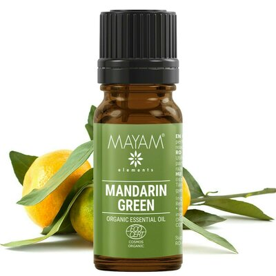 Mandarina verde BIO ulei esential (citrus reticulata) 10 ml