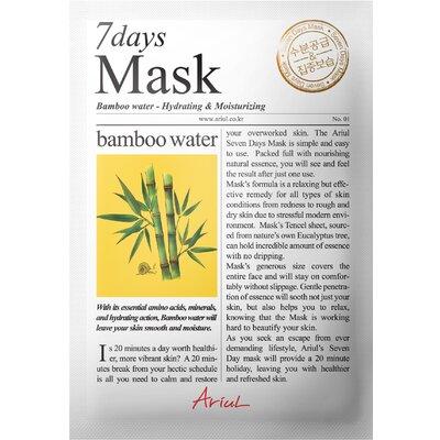 Masca Ariul 7Days Mask Apa de Bambus, Hidratare si catifelare, 20g
