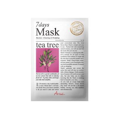 Masca 7days arbore de ceai, curatare si purificare, 20g, Ariul