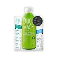 Masca Ariul - Juice Mask Menta si Mar Verde, Controlul porilor - exfoliere si controlul sebumului, 20g