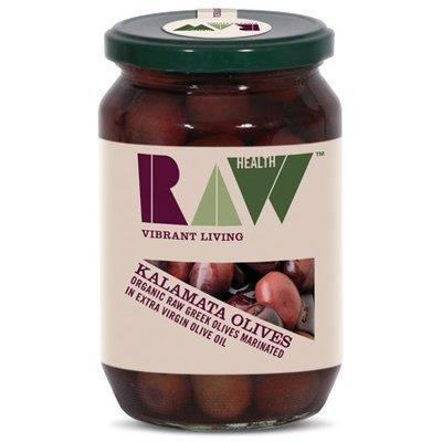 Masline Kalamata raw in ulei de masline bio 330g