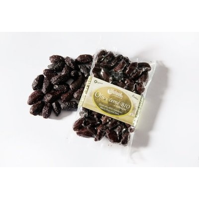 Masline negre Botija cu ierburi raw bio 150g Lifefood