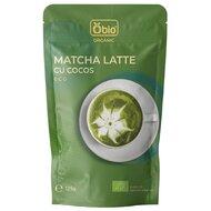 Matcha latte cu cocos bio 125g Obio