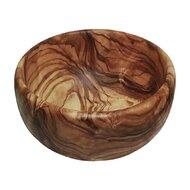 Bol rotund din lemn de maslin, 16 cm
