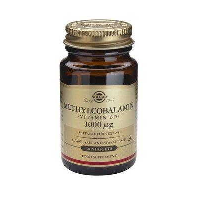 Methylcobalamin (Vitamina B12) 1000mcg 30tb (Metilcobalamina) SOLGAR