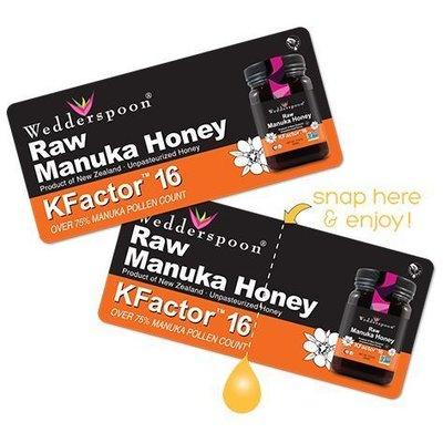 Miere De Manuka KFactor 16 RAW 100% Naturala - 24 plicuri x 5g