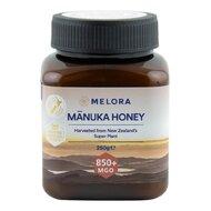 Miere de Manuka MELORA, MGO 850+ Noua Zeelanda, 250 g, naturala