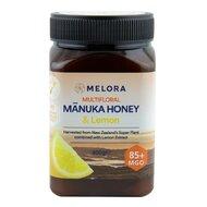 Miere de Manuka poliflora cu lamaie MELORA, MGO 85+ Noua Zeelanda, 500 g, naturala