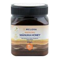 Miere de Manuka poliflora MELORA, MGO 85+ Noua Zeelanda, 375 g, naturala