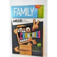 Milzu! Crunchies Bio cu scortisoara, 450 gr