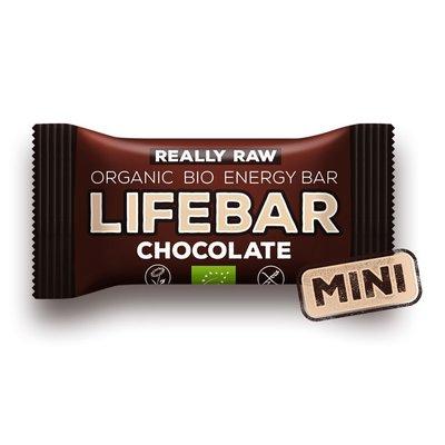 MINI-Lifebar baton cu ciocolata raw bio 25g