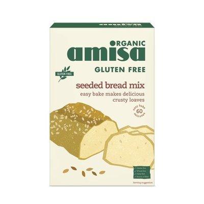 Mix pentru paine fara gluten cu seminte bio 500g PROMO