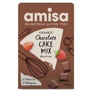 Mix pentru prajitura cu ciocolata fara gluten bio 400g PROMO