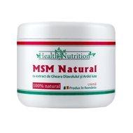 MSM Natural - crema cu extract de Gheara Diavolului si Ardei Iute - 200 ml
