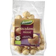 Nuci macadamia bio 100g Dennree