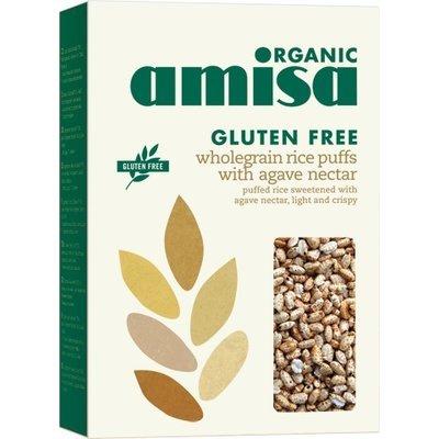 Orez integral expandat cu sirop de agave fara gluten bio 225g PROMO